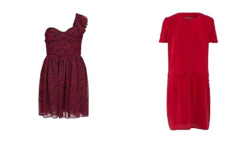 robe bisou Mango/Robe en soie Comptoir des Cotonniers