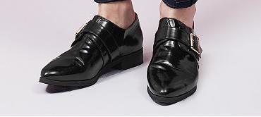 Chaussures à boucles Mango dispo ici