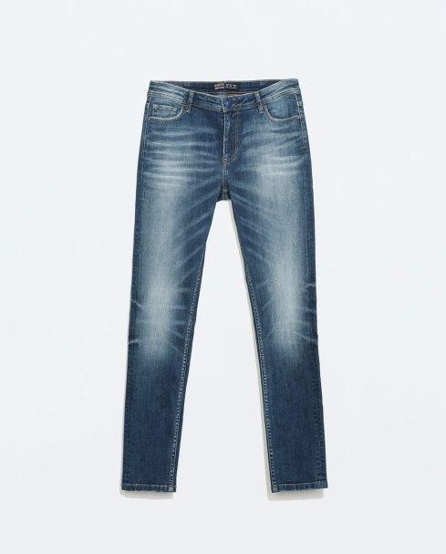 jeans cigarette zara
