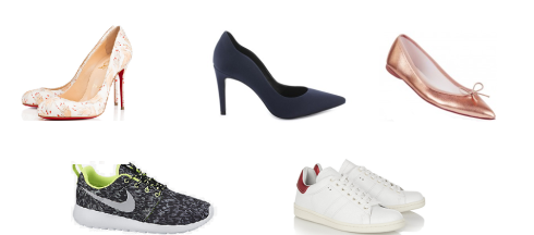 Louboutin/Minelli/Repetto/Nike/Isabel Marant