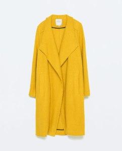 Manteau enveloppant, Zara, 69,95e
